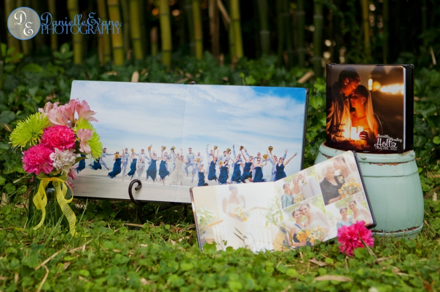 Danielle Evans Photography Wedding Albums